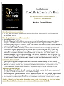 OMI book The Life & Death of a Hair